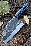vk6610 Handmade 440c Steel Serbian vegetable Cleaver Chopper Kitchen Home Professional Knife 11.5 Inches