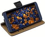 mumbi Tasche Bookstyle Hülle kompatibel mit Huawei Shotx Hülle Handytasche Hülle Wallet, schwarz