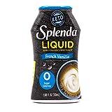SPLENDA LIQUID French Vanilla Zero Calorie Sweetener Drops - 1.68 Ounce Bottle (Pack of 1)