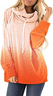 Womens Casual Oversized Warm Double Fuzzy Hooded Tie Dyes Print Sweatshirt Loose Drawstring Pullover Hoodies