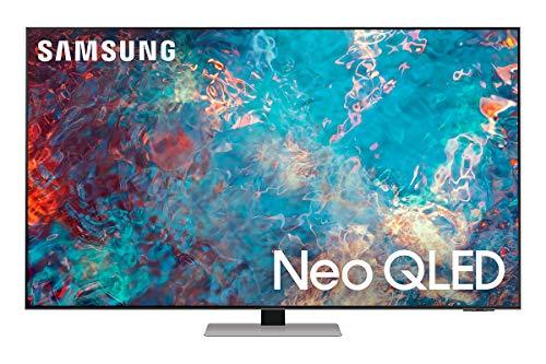 Samsung Neo QLED 4K 2021 55QN85A - 55' Smart TV, Risoluzione 4K UHD, Tecnologia Quantum Matrix, Processore Neo QLED 4K con IA, Quantum HDR, OTS [Efficienza energetica classe F]