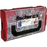 Fischer 541357 Tacos, rojo y gris, caja mediana