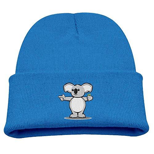 zhulaowufenbaoyouxi Animal Koala Baby Beanie Hat Toddler Winter Warm Knit Woolen Watch Cap for Kids
