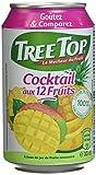 Tree Top - 100% Fruits - Fabriqué en France - Canette - Boissons - Multifuits - 24x330ml
