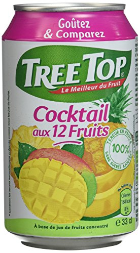 Tree Top - 100% Fruits - Fabriqu...