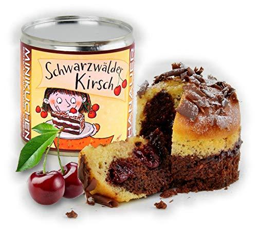 Hanauer Minikuchen Schwarzwälder Kirsch, 1er Pack (1 x 170 g)