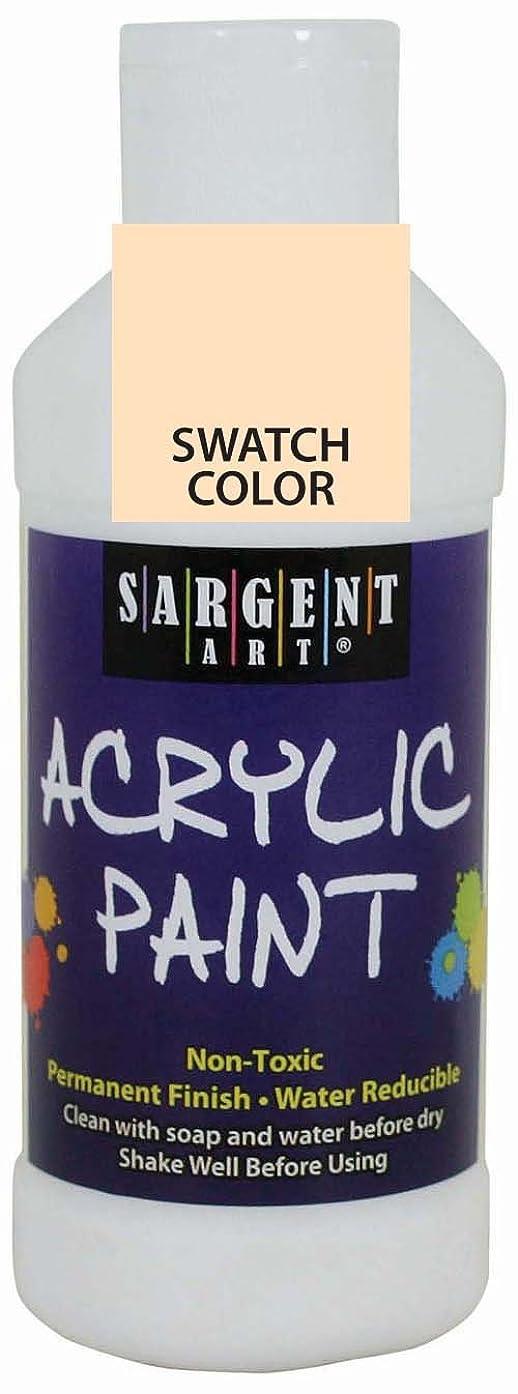 Sargent Art 22-2387 8-Ounce Acrylic Paint, Peach