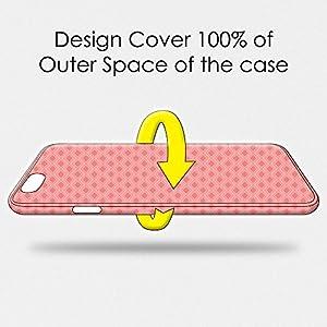 AMZER Slim Fit Handcrafted Designer Printed Hard Shell Case Back Cover Skin for Vivo V5 Plus - Carbon Black With Texture HD Color