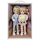 EVA BJD Linda muñeca de 12 Pulgadas 1/6 30cm, Ropa del Cuerpo de la Peluca y Zapatos...