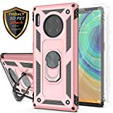 YmhxcY Huawei Mate 30 Pro Case with 3D PET Screen Protector