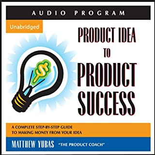 Product Idea to Product Success audiobook cover art