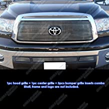 APS Compatible with 2010-2013 Toyota Tundra Billet Grille Grill Insert Combo T61060A