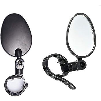 VORCOOL Pair of Bicycle Handlebar Mirror Blast-Resistant Adjustable Cycle Mirror