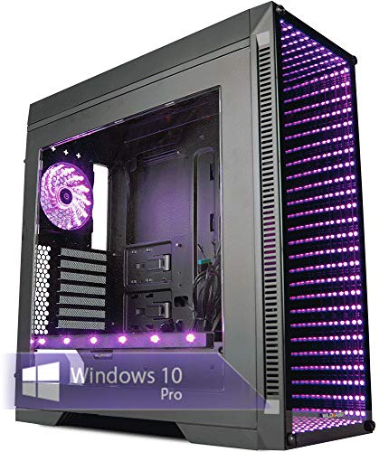 Ankermann GTA 5 Gaming PC 24 Month Warranty, Ryzen 2600 6x3.40GHz 16GB RAM 240GB SSD 1TB HDD Windows 10 Pro Grand Theft Auto V - Game Key