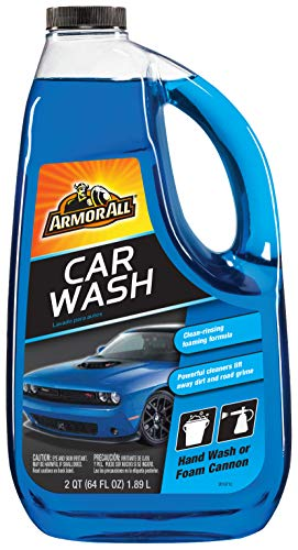 Armor All Car Wash Formula, Cleaning Concentrate for Cars, Truck, Motorcycle, Bottles, 64 Fl Oz,...