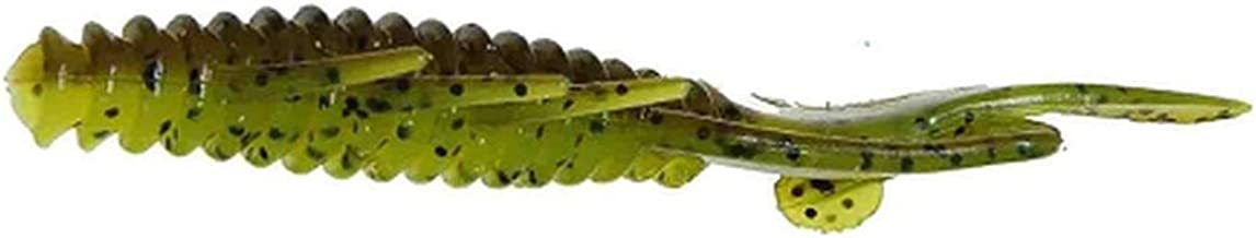 Gene Larew Biffle Bug 4 1/4 inch, Green Pumpkin Chartreuse Pepper