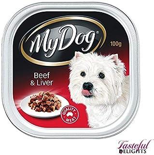 MY DOG Beef & Liver 12X100G (181669) (DMD100BLX12)