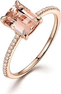 Kstare Women Romantic A Fine Zircon Rings Wedding Engagement Ring Jewelry Gift