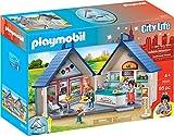 Playmobil City Life - 70111 - Juegos de construcción - Cena de Comida rápida para Llevar