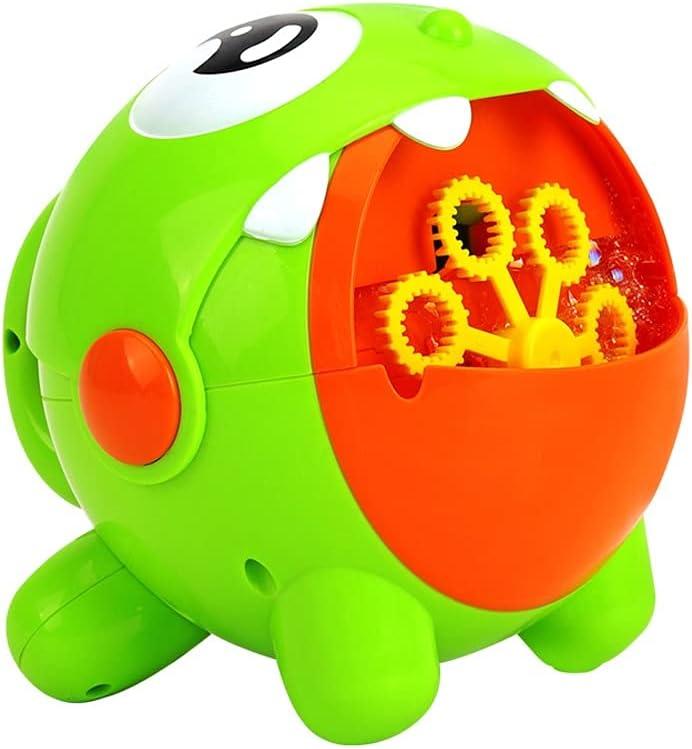 Animal Bubble Machine,Rechargeable Bubble Machine for Babies Tod