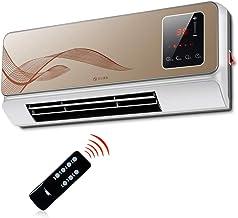 Calentador de Pared, eléctrico doméstico, Prueba de Agua, Aire Acondicionado pequeño para baño, Control Remoto de Alta Potencia