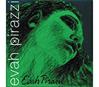 Pirastro Evah Pirazzi 4/4 Violin String Set - Medium Gauge - With Loop-End Gold-Plated E [並行輸入品]