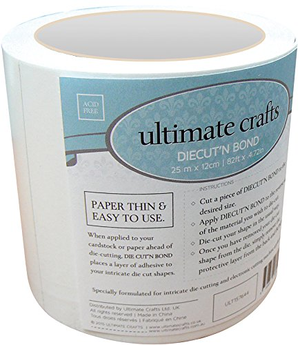 Artdeco Creations 157644 Ultimate Crafts Diecut'N Bond Double-Sided Tape 4.72