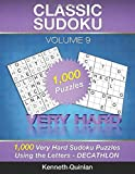 Classic Sudoku: 1,000 Very Hard Sudoku Puzzles Using the Letters - DECATHLON