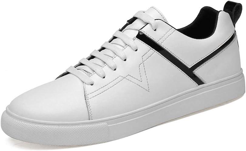 SHENYUAN-Cas de la Mode Chaussures athlétiques de la Mode pour Hommes Casual et Confortable Laçage Haut-Bas Chaussures de Sport polyvalentes Chaussures de Sport pour Hommes