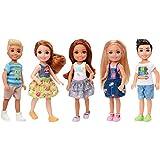 Mattel DWJ33 Poupée-Barbie Chelsea et Amis - Modèle aléatoire