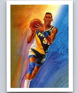 1990-91 Hoops #365 Reggie Miller Pacers TC NBA Basketball