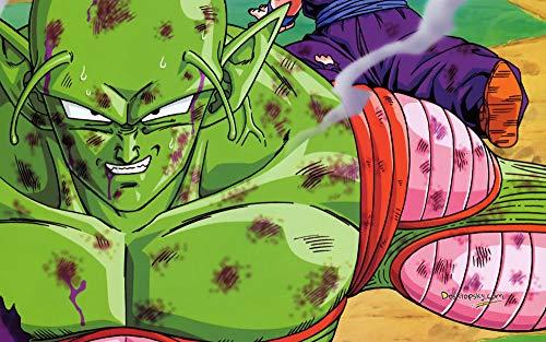 CXVXC Luchando Anime Green bick,UIUY 1000 Piezas,para Adultos,Máxima Calidad de impresión,Juguetes clásicos Rompecabezas, DIY Rompecabezas para Adultos