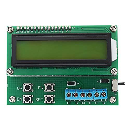 Guolongbaihuo Módulo de visualización Transmisor de 4-20 mA 10V Tensión Corriente generador de señal de 20 mA señal con la Pantalla LCD de visualización 1602, estrenar