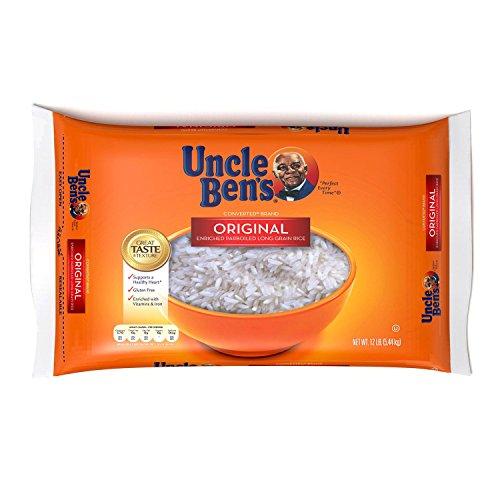Uncle Ben#039s Original Converted Brand Enriched Parboiled Long Grain Rice 12 lb bag A1