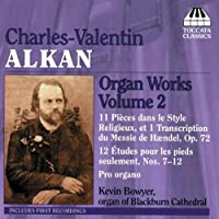 Organ Works 2 by CHARLES-VALENTIN ALKAN (2008-06-10)