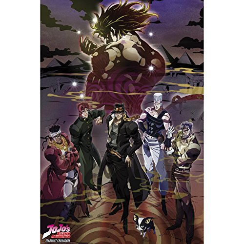 goodies Jojo'S Bizarre Adventure Poster Groupe 91,5 x 61