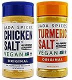 Chicken Salt - Vegan, Non-GMO, NO MSG, Gluten Free, Australia's #1 All-Purpose Seasoning (Original, Turmeric Salt)