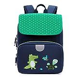 willikiva Toddler Backpack for Girls and Boys Preschool kindergarten Backpack Waterproof Bags (Green)