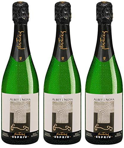 Bio Wein Schaumwein Halbtrocken Xarel.lo Parellada Macabeu Spanien Penedès 2017 Clàssic Penedès Cuvée Vegan Histaminarm (3 x 0.75 l)