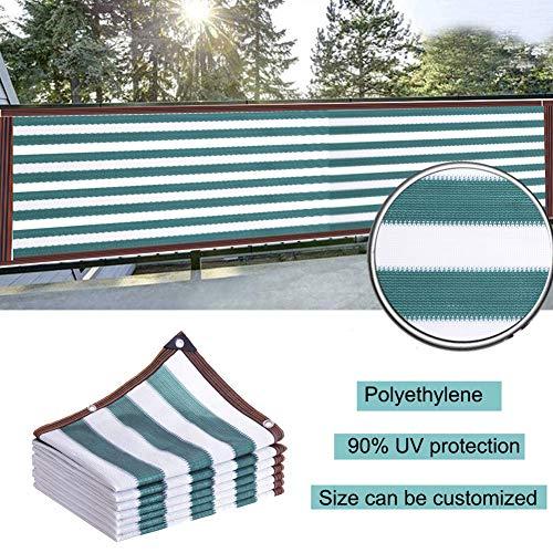 LJIANW Écran de confidentialité pour Balcon, Bande Tissu d'ombrage Protection UV Pare-Brise Panneau de confidentialité avec Oeillets Facile à Installer for Plate-Forme Terrasse, 62 Tailles