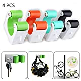 Bicycle Parking Rack with Buckle Road Mountain Bike Wall Mount Hook Portable Indoor