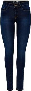 ONLY 15077791 SKINNY SOFT ULTIMATE 201 Skinny Jeans, Femme