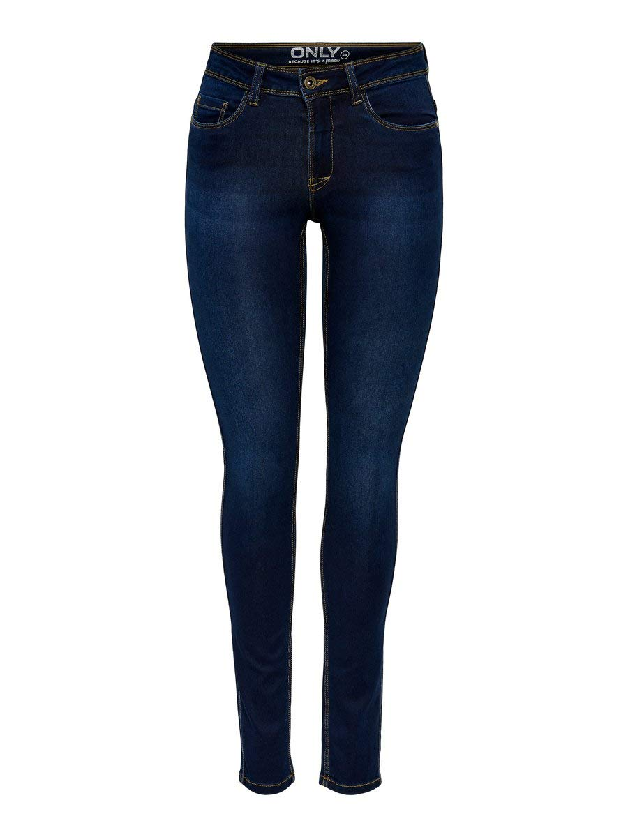 ONLULTIMATE King Jeans, Dark Blue Denim, M / 30L Femme