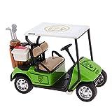 La Cabina Enfant Jouet Véhicules Modèle Mini Chariot de golf Avec Musique et Lumière Inertiels Voiture Jouets Educatif Cadeau pour Enfant (vert)