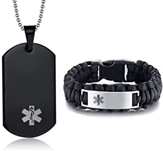 medical necklaces and bracelets