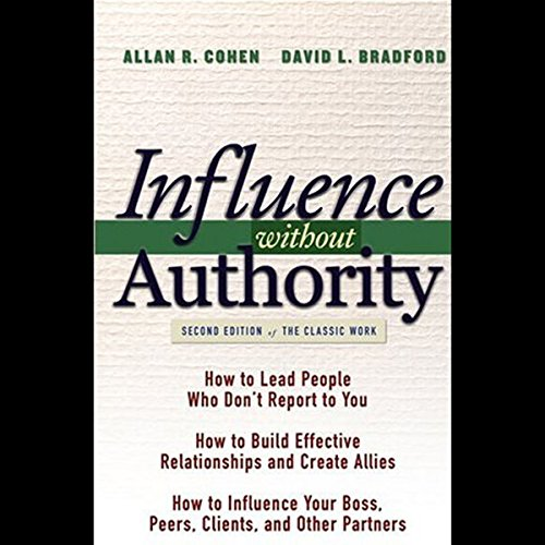 Influence Without Authority  Audiolibri