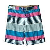 Patagonia M's Wavefarer Boardshorts-45 cm - Pantaloni Corti, da Uomo, vestibilità a Stripe: Gioiello Blu, 28