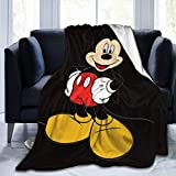 Suguroo Happy Mouse Blanket Fade Resistant Super Soft Bedding Measures 50 x 60 Inches