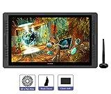HUION KAMVAS Pro 22 Tableta Grafica con Pantalla Libre de Batería lápiz Display con 10 Teclas de Prensa Personalizados y un...
