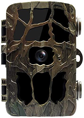 YUKM Cámara De Sendero Al Aire Libre De 4K HD, Cámara De Monitores Fruit Farm Monitor Campo Cámara De Caza Anti-Robo E Impermeable 12MP 1080P IP66 Cámara De Visión Nocturna